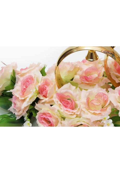 Кольца на а/м малые (чайная роза)