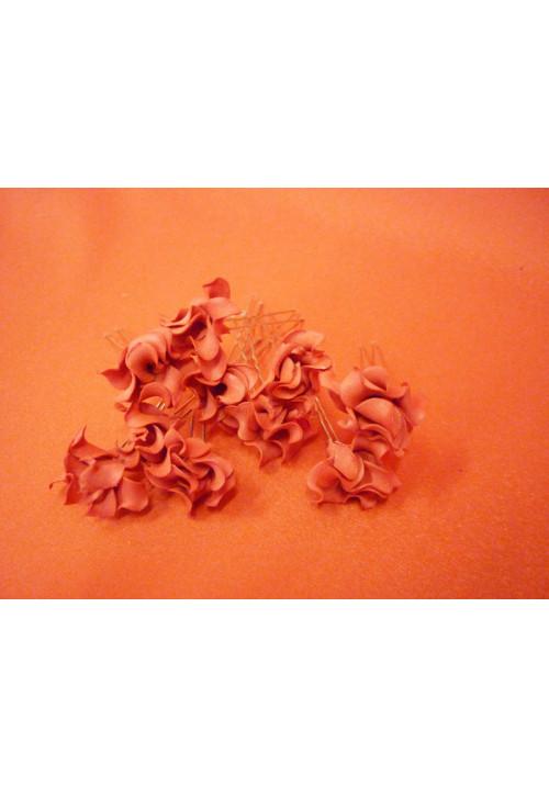 Цв. на шпильке лилия (уп.10шт) (красная)