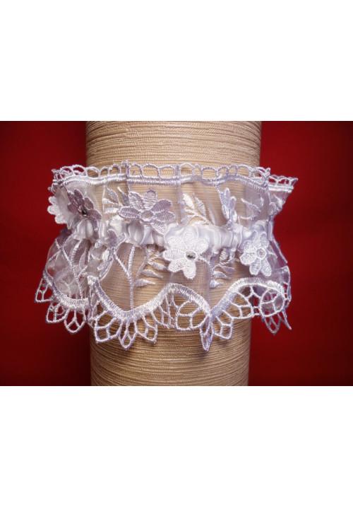 Подвязка Аура бел