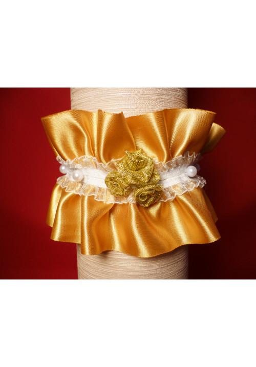 Подвязка Жемчужина золотая