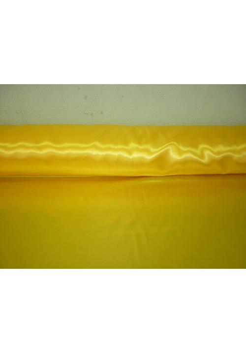 Атлас жёлтый ширина 1,5м длина 100м