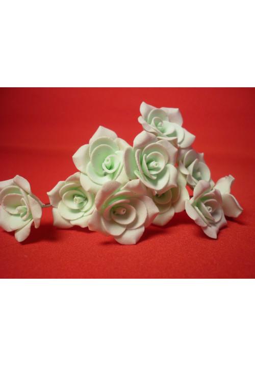 Цв. на шпильке роза №2 (уп.10шт) (тиффани)