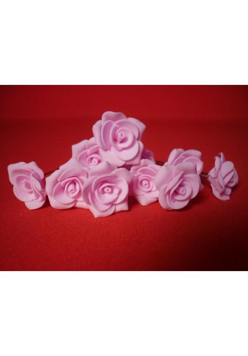 Цв. на шпильке роза №2 (уп.10шт) (розов)