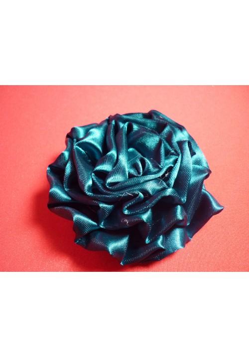 Роза атлас зелёная 7см. (10шт)