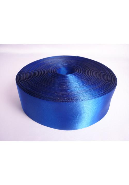 Лента атлас 5см/100м синяя