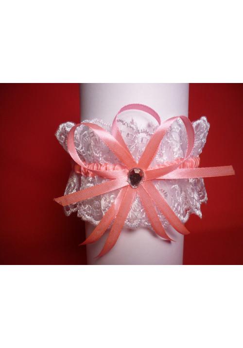Подвязка (уп. 5 шт) бел-роз
