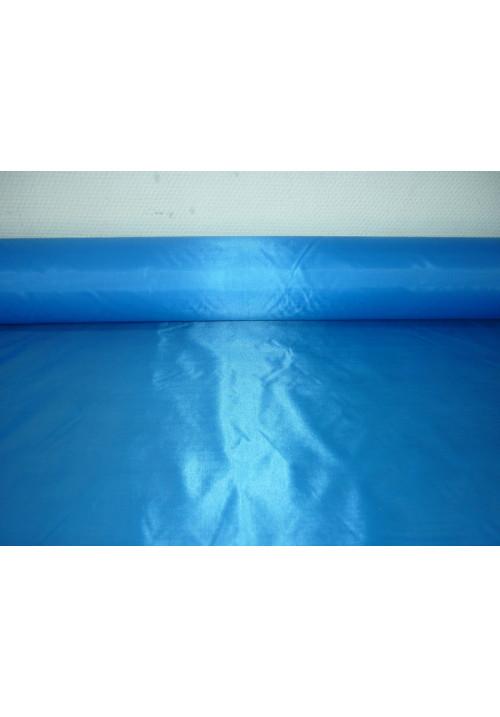 Полиэстер ярко-голубой ширина 1,5м длина 100м