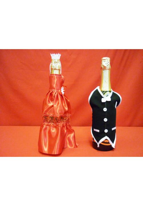 Костюм на шампанское №1 красный (5пар)