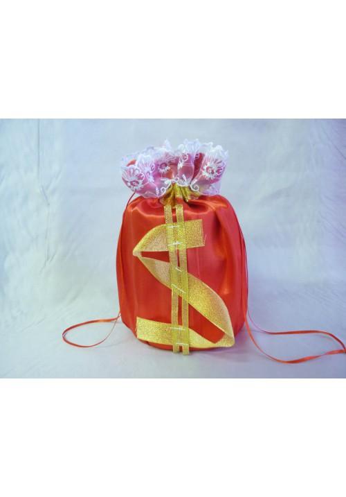 Мешок для денег  $  (упак 5 шт.) красный