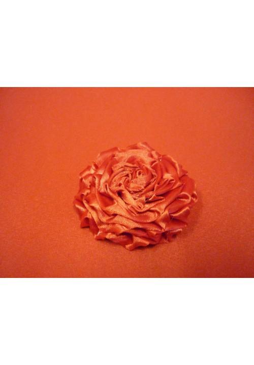 Роза атлас красная 7см. (10шт)