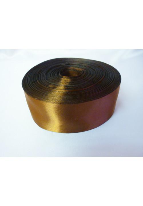 Лента атлас 5см/100м шоколад