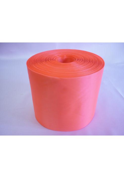 Лента полиэстер 10см/100м ярко-оранжевая