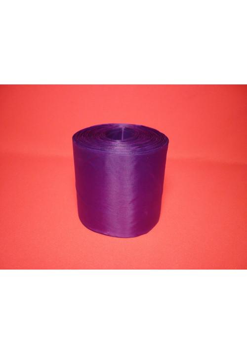 Лента полиэстер 10см/100м фиолетовая