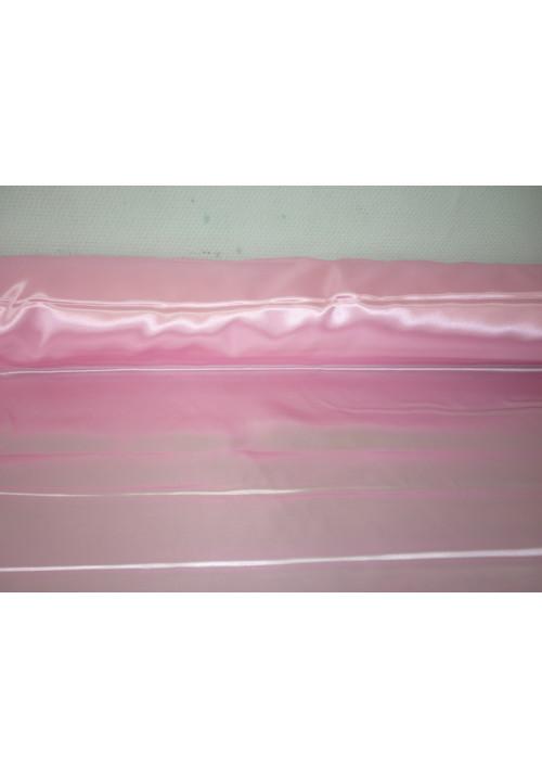 Атлас розовый ширина 1,5м длина 100м