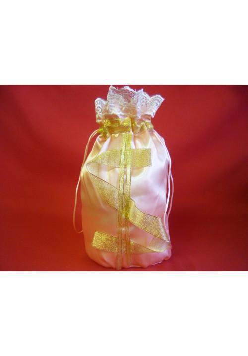 Мешок для денег  $  (упак 5 шт.) персик