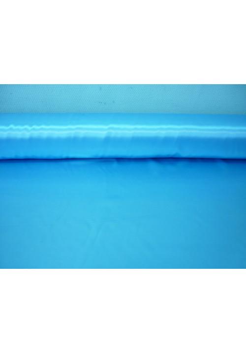 Атлас голубой ширина 1,5м длина 100м