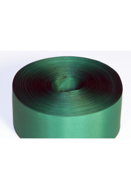 Лента полиэстер 5см/100м зелёная