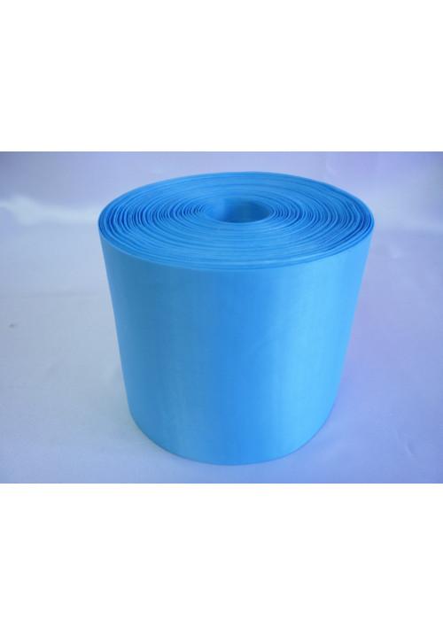 Лента полиэстер 10см/100м голубая