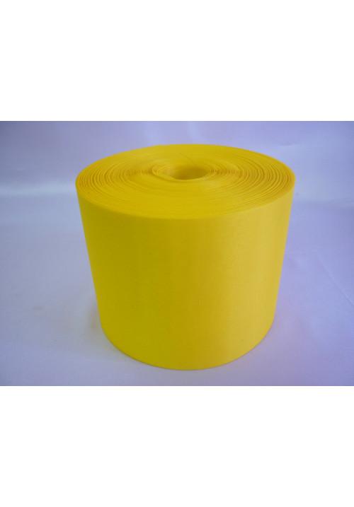 Лента полиэстер 10см/100м жёлтая