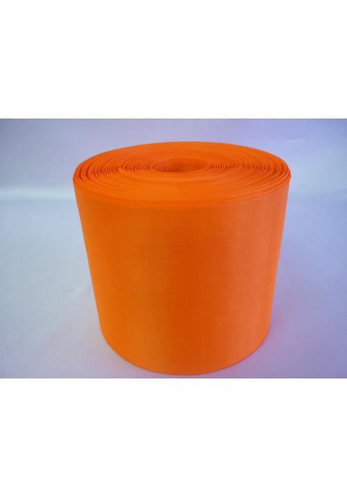 Лента полиэстер 10см/100м оранжевая