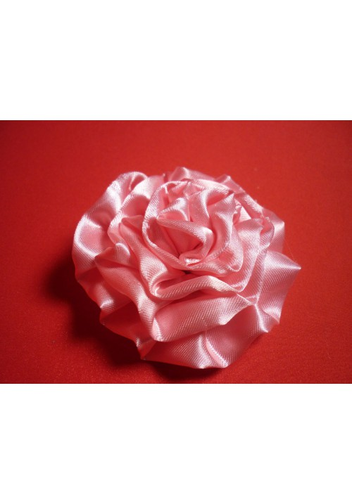 Роза атлас розовая 7см. (10шт)