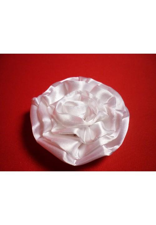 Роза атлас белая 7см. (10шт)