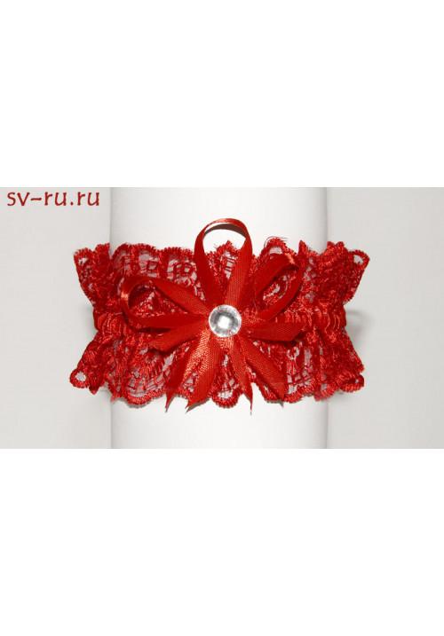 Подвязка (уп. 5 шт) красная