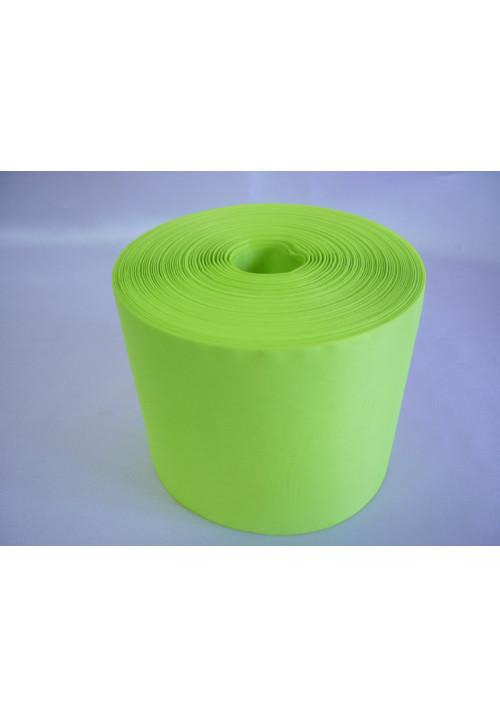 Лента полиэстер 10см/100м ярко-салатовая