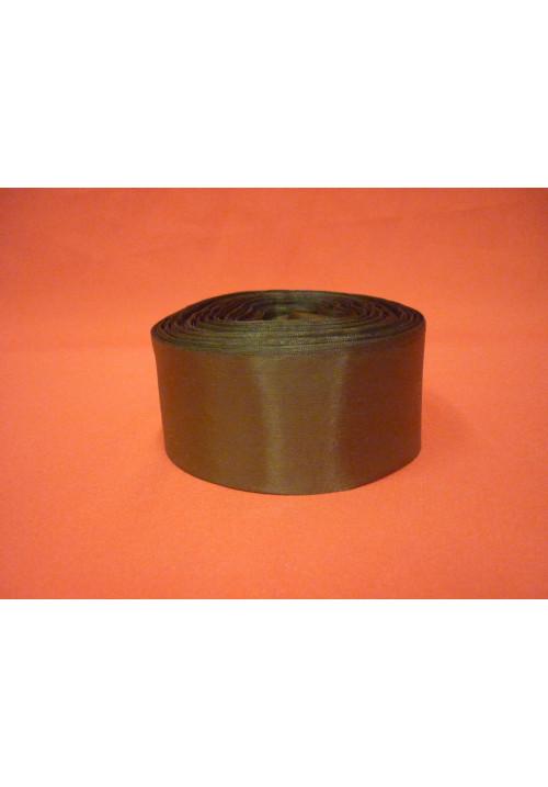 Лента полиэстер 5см/100м тёмно-оливковый